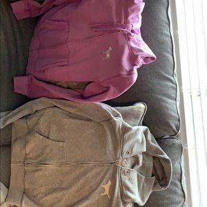 Set of 2 Victoria's Secret PINK hoodies.